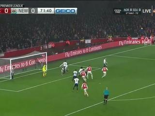 Arsenal 1-0 Newcastle United Maç Özeti