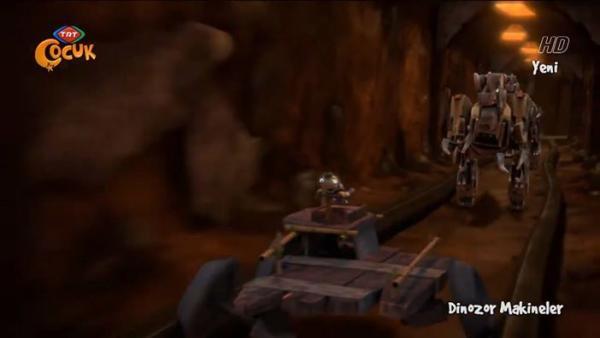 Dinozor Makineler Boyama Makinesi Izle