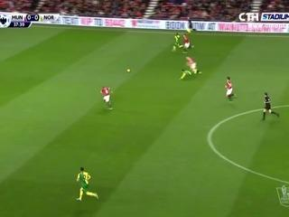 Manchester United 1-2 Norwich City Maç Özeti