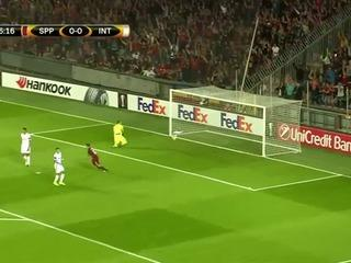 Sparta Prague 3-1 Inter Avrupa Ligi