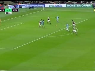 West Ham United 0-4 Manchester City Maç Özeti