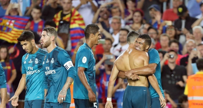 Barcelona 1-3 Real Madrid Süper Kupa