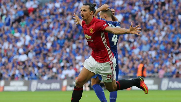 Leicester City 1-2 Manchester United Community Shield